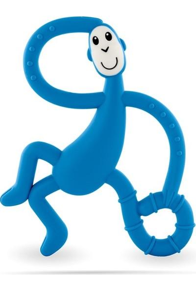 Matchstick Monkey Diş Oyuncağı Mavi Maymun Dans