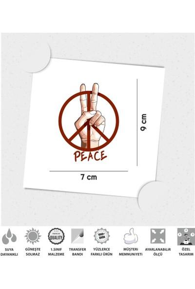 Çınar Extreme Barış İşareti Sticker