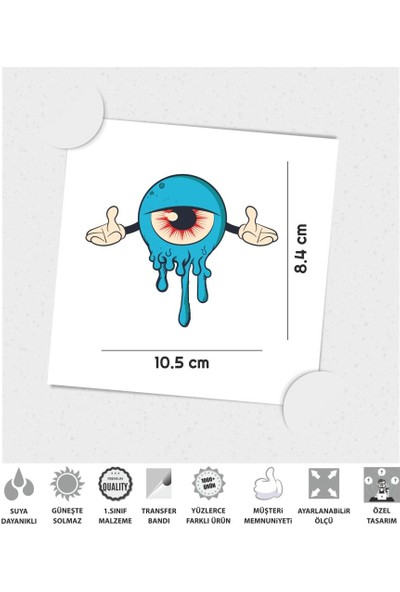 Çınar Extreme Welt Eye Sticker