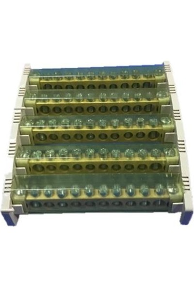 Kaim 5 Delikli 3 Katlı Dağıtıcı Ünite (100 Amper)