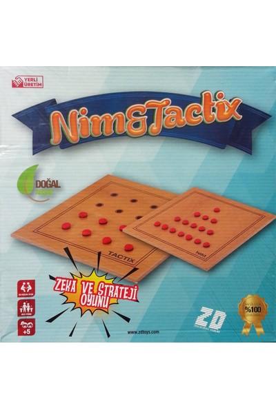 Zdtoys Ahşap Nim & Tactix Oyunu