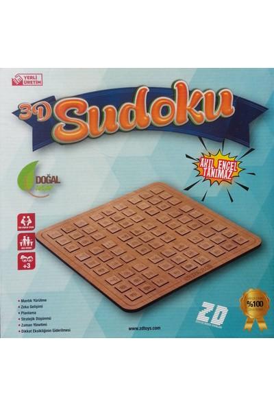 Zdtoys Ahşap Sudoku Oyunu