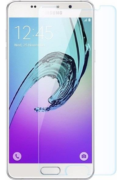 Ehr. Samsung Galaxy A5 2016 Nano Ekran Koruyucu Cam + Şeffaf Silikon Kılıf