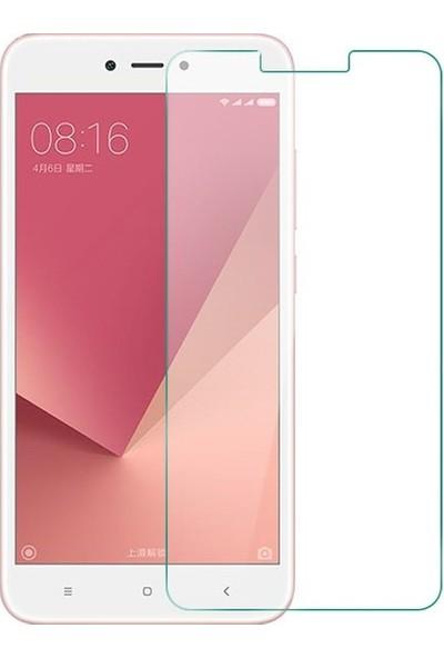 Ehr. Xiaomi Redmi Note 5A Nano Ekran Koruyucu Cam + Şeffaf Silikon Kılıf