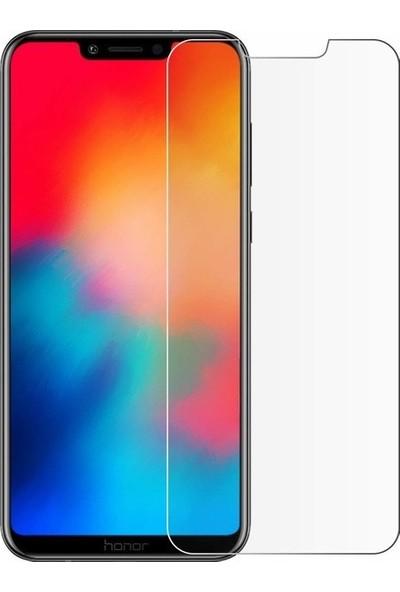 Ehr. Huawei Honor Play Nano Ekran Koruyucu Cam + Şeffaf Silikon Kılıf