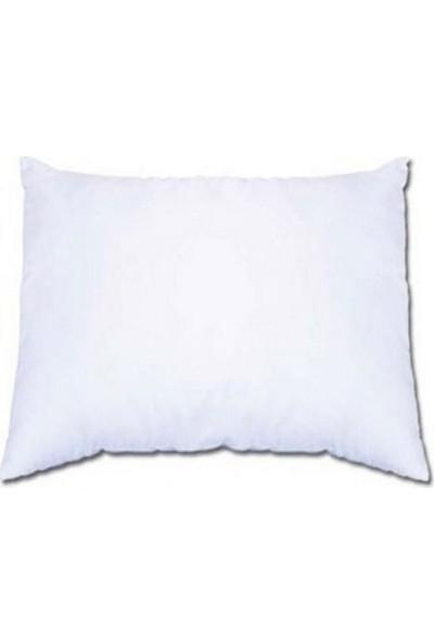Başaran Tekstil Standart Düz Beyaz Elyaf Yastık