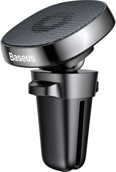 Baseus Privity Series Pro Araç İçi Telefon Tutucu Hakiki Deri Siyah
