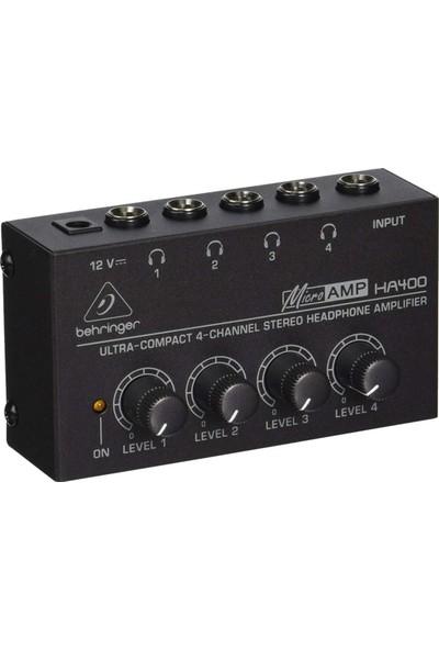 Behringer Microamp HA400 Kulaklık Preamfisi