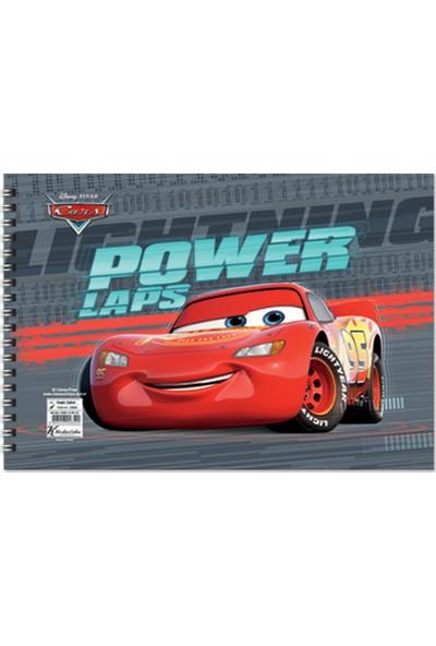 Cars 17*25 15 Yaprak Resim Defteri