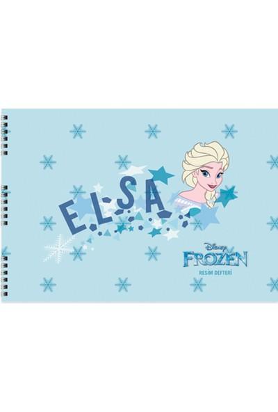 Frozen 25*35 15 Yp.Resim Defteri
