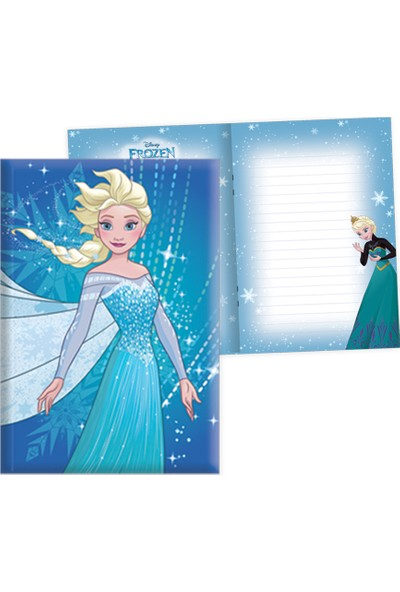 Frozen 14*20 104 Yaprak Kilitli Hatıra Def.