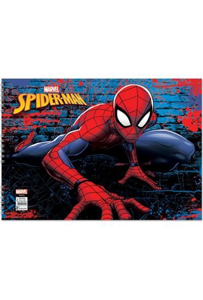 Spider-Man 25*35 15 Yaprak Resim Defteri