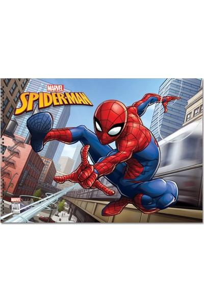 Spider-Man 35*50 15 Yaprak Resim Defteri