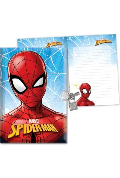 Spider-Man 14*20 104 Yaprak Kilitli Hatıra Def.