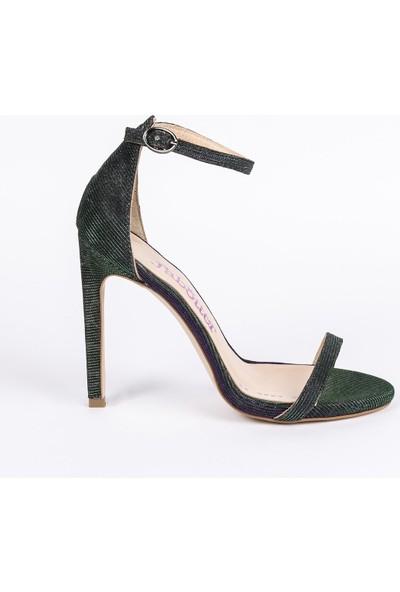 Jabotter Elegant Leopar Janjan Topuklu Ayakkabı 12 Cm
