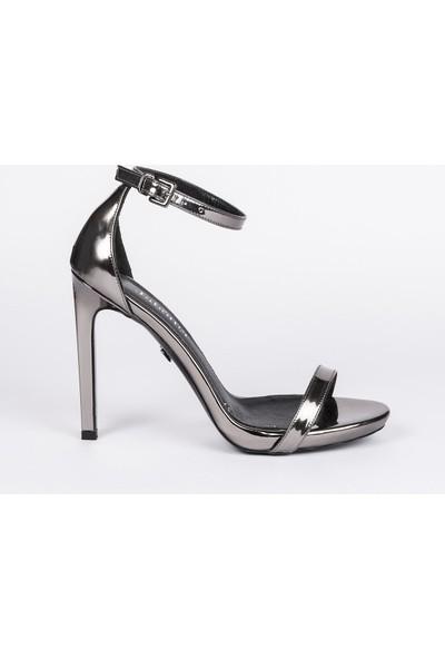 Jabotter Elegant Nikel 12 Cm Topuklu Ayakkabı