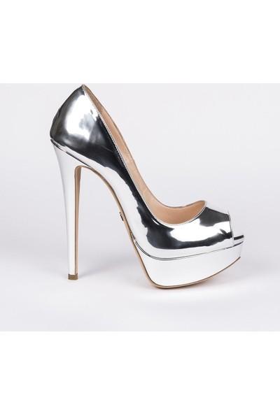 Jabotter Luis Lame Ayna Platform Topuklu Ayakkabı