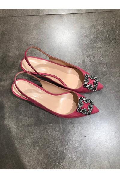 Jabotter Sindirella Pembe 5 Cm Topuklu Ayakkabı