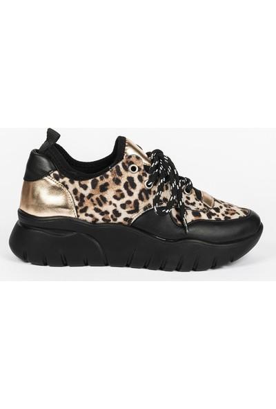 Jabotter Jelly Siyah Altın Spor Ayakkabı