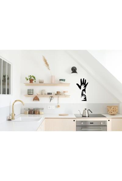 Alya Home Art Sevgi̇ Eli̇ Temali Metal Tablo