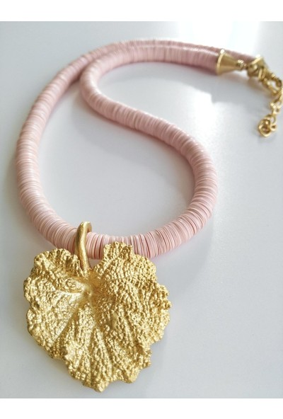 Heavenly Ore Pink Fall Kolye