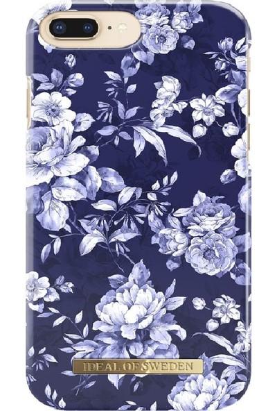 Ideal of Sweden iPhone 7 Plus / 8 Plus Sailor Blue Bloom Arka Kapak
