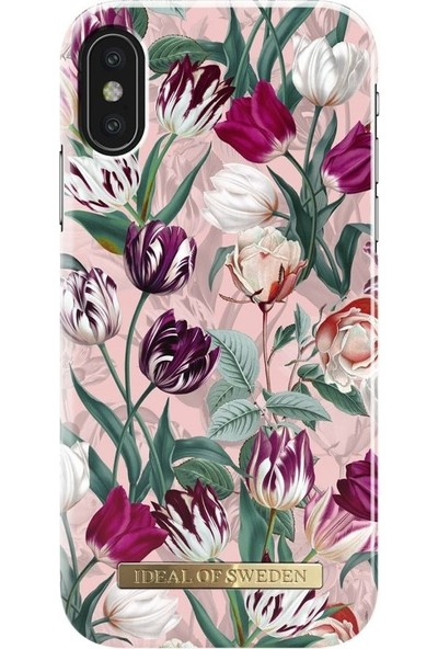Ideal of Sweden iPhone X Vintage Tulips Arka Kapak