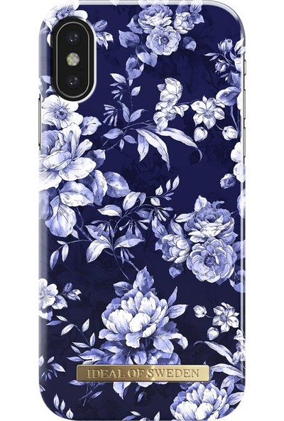 Ideal of Sweden iPhone X Sailor Blue Bloom Arka Kapak