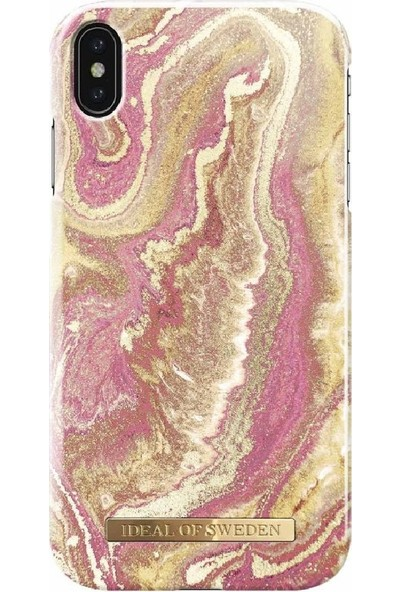 Ideal of Sweden Xs Max Golden Blush Marble Arka Kapak