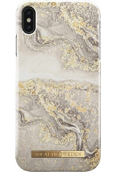 Ideal of Sweden Xs Max Sparkle Greige Marble Arka Kapak