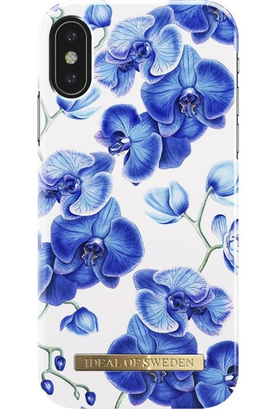 Ideal of Sweden iPhone X Baby Blue Orchid Arka Kapak