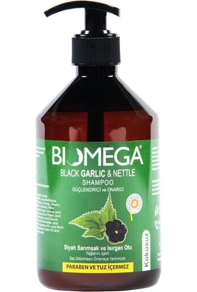 Biomega Siyah Sarımsak ve Isırgan Otu Şampuan 500 ml