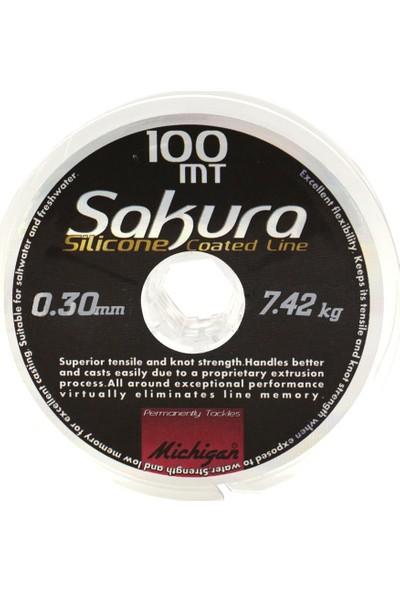 Sakura Silikon Kaplama Copolymer Misina 100 Mt