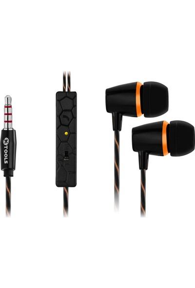 Ktools Fd Mikrofonlu Stereo Kulak İçi Kulaklık