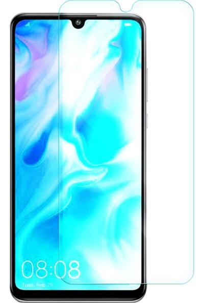 Microcase Huawei P30 Lite Tempered Glass Cam Ekran Koruma