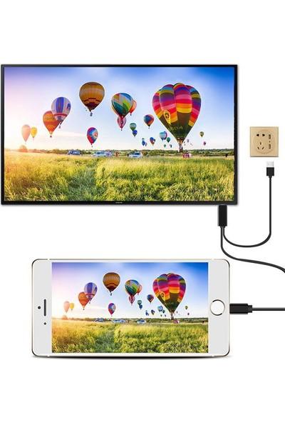 Airsky Apple iPhone iPad Lightning HDMI Görüntü ve Ses Aktarıcı Kablo - A5-22