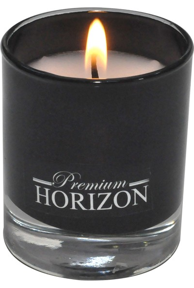 Horizon Mum Siyah Bardak Mum 2'li 66971