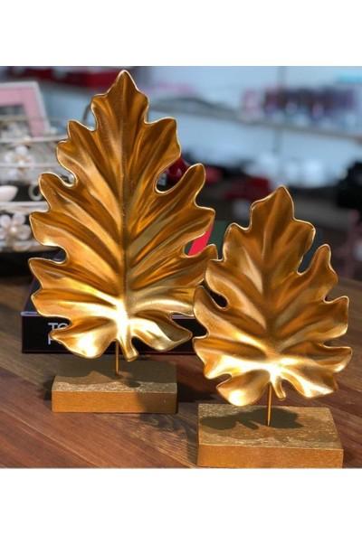 Getto Store 2Li Amazon Dekoratif Obje Gold Mh-03