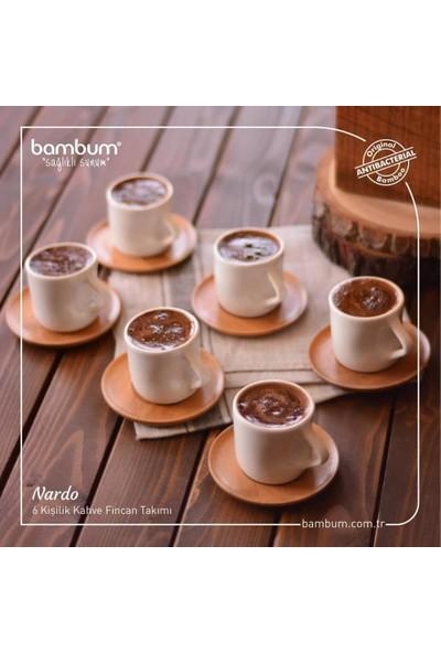 Bst Bambum Nardo 6 Kişilik Türk Kahvesi Fincan Takımı B0562