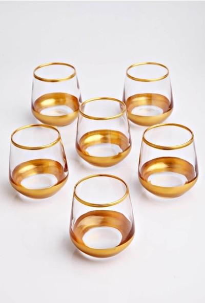Getto Store Gold Serisi Lüks 6 Adet Kahve Yanı Su Bardağı Ocl-Lal304