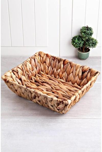 Getto Store Bambu Rattan Lüks Ekmek Meyve Sepeti Mln-30230