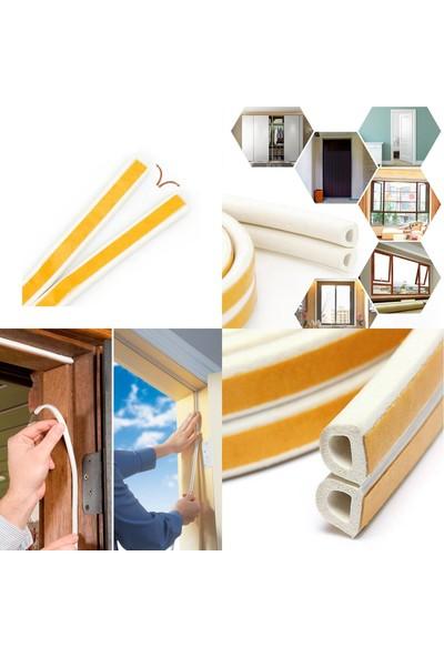 Mastercare Kapı Pencere Ses Isı İzolasyon Bantı 20 m Çift Sıra Beyaz 427469