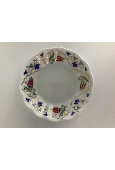 Porland Porselen 6'Lı 127912 Lale Naz Çay Tabağı