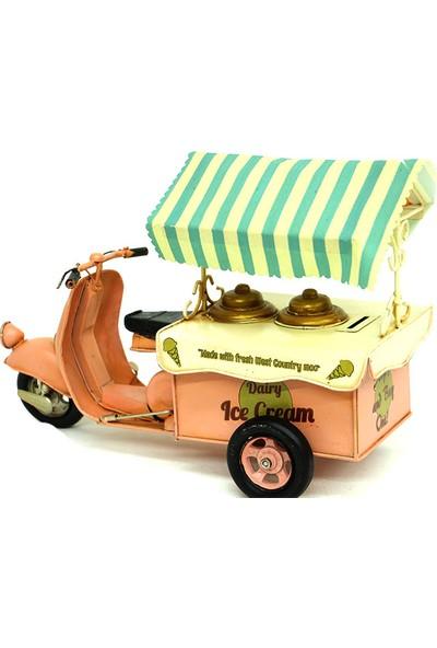 Klc Dekoratif Dondurma Arabası