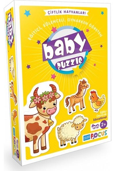 Blue Focus Çiftlik Hayvanları Baby Puzzle