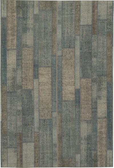 Enza Home PASSAGE Halı - Gri/Mavi (120x180 cm)