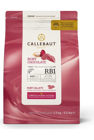 Callebaut Ruby RB1 (2.5 kg)