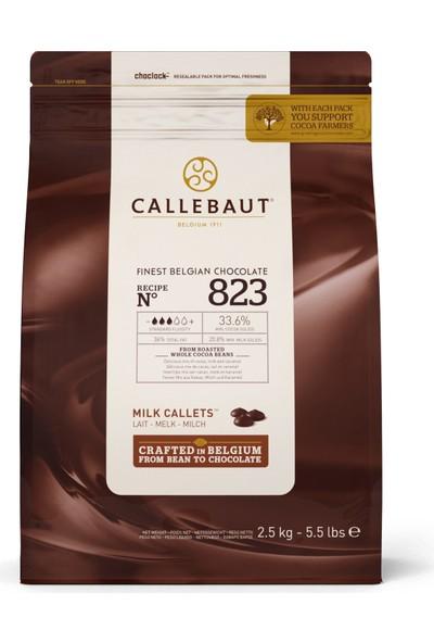 Callebaut Sütlü Damla Çikolata 823 (2.5 kg)