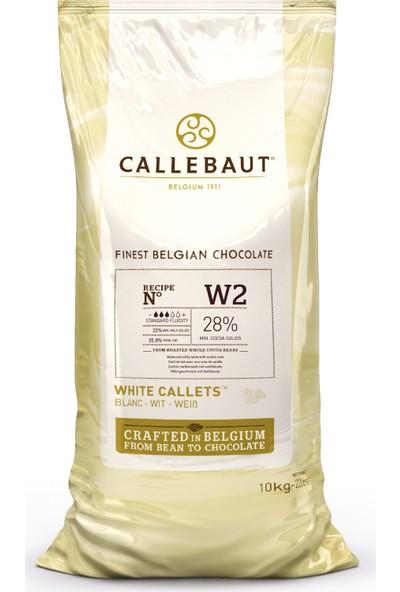 Callebaut Beyaz Damla Çikolata W2 (10 kg)
