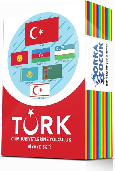 Orka Çocuk 2. ve 3. Sınıflar İçin Türk Cumhuriyetlerine Yolculuk Hikaye Seti 10 Kitap